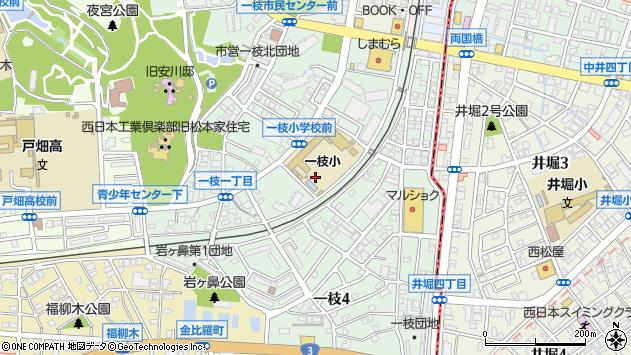 福岡県北九州市戸畑区一枝2丁目 地図(住所一覧から検索 ...