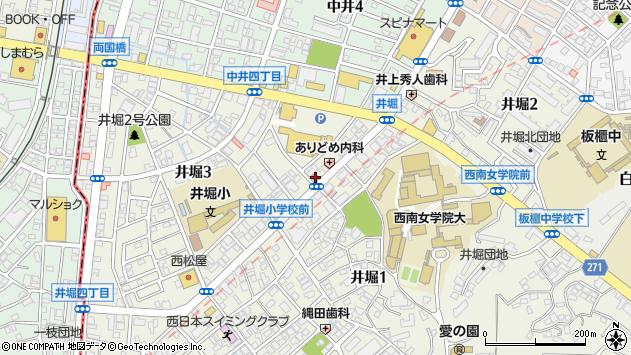福岡県北九州市小倉北区井堀 地図(住所一覧から検索 ...