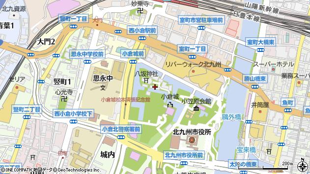 福岡県北九州市小倉北区城内 地図(住所一覧から検索 ...