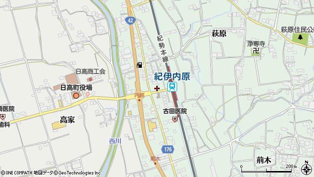 和歌山県日高郡日高町志賀大井 住所一覧から地図を検索