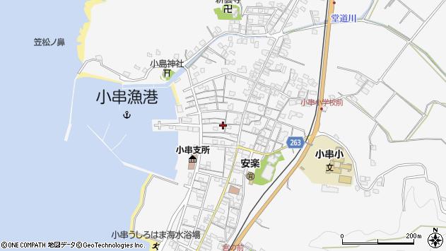 山口県下関市豊浦町大字小串 地図(住所一覧から検索 ...
