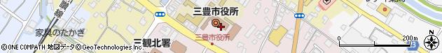 香川県三豊市周辺の地図
