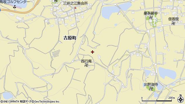 香川県善通寺市吉原町周辺の地図