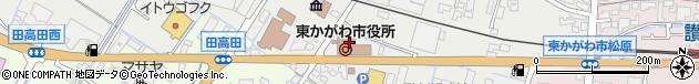 香川県東かがわ市周辺の地図