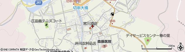 広島県江田島市江田島町切串周辺の地図