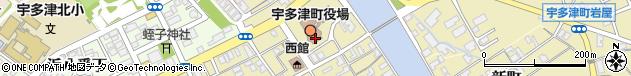 香川県綾歌郡宇多津町周辺の地図