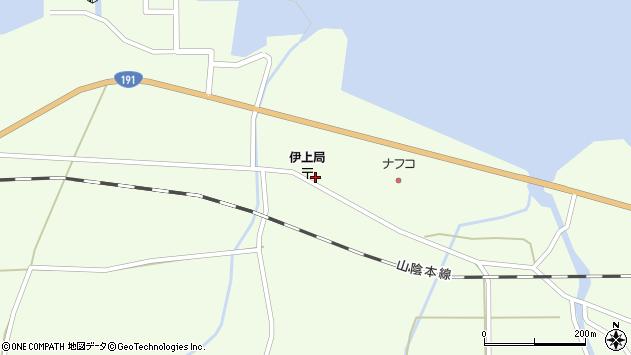 山口県長門市油谷伊上大江 住所一覧から地図を検索