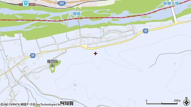 奈良県吉野郡下市町阿知賀瀬ノ上周辺の地図