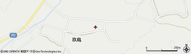 広島県廿日市市玖島中村周辺の地図