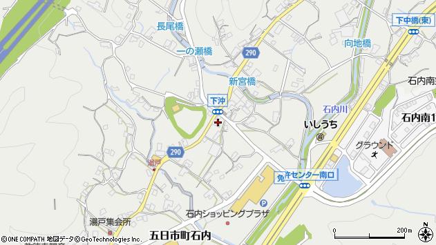 広島県広島市佐伯区五日市町大字石内周辺の地図