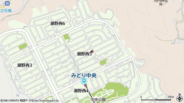 広島県広島市安芸区瀬野西 地図(住所一覧から検索) :マピオン