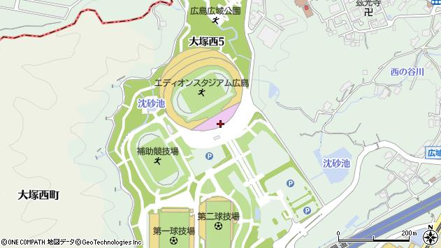 広島県広島市安佐南区大塚西5丁目周辺の地図