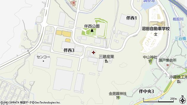 広島県広島市安佐南区伴西3丁目周辺の地図