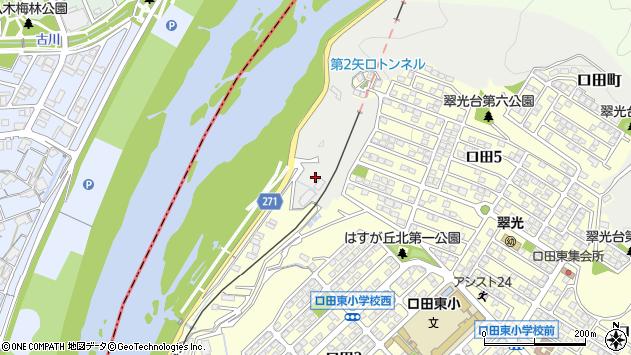 広島県広島市安佐北区口田町 住所一覧から地図を検索