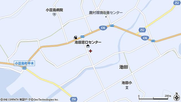香川県小豆郡小豆島町周辺の地図