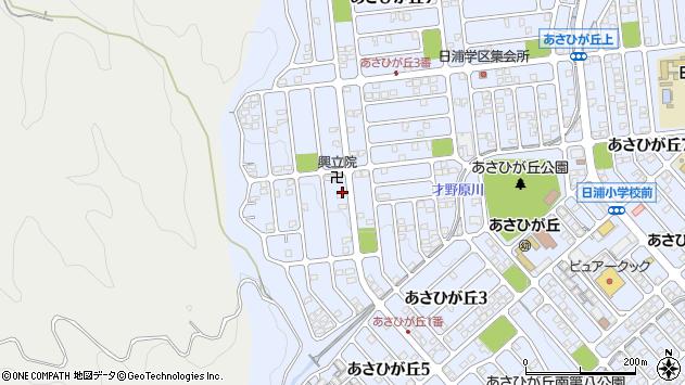広島県広島市安佐北区あさひが丘 地図(住所一覧から検索 ...