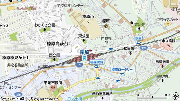 奈良県宇陀市榛原萩原2360周辺の地図