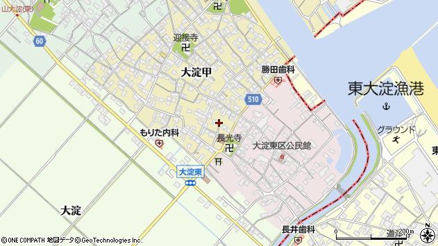 三重県多気郡明和町大淀周辺の地図