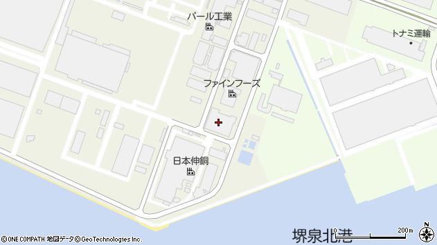 大阪府堺市堺区匠町周辺の地図