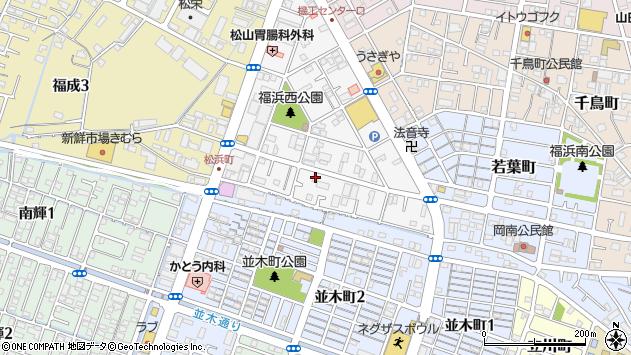 岡山県岡山市南区松浜町周辺の地図