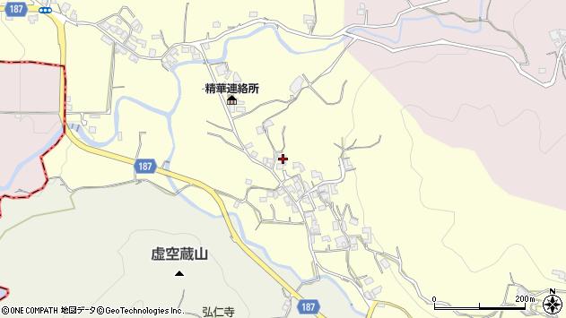 奈良県奈良市高樋町周辺の地図