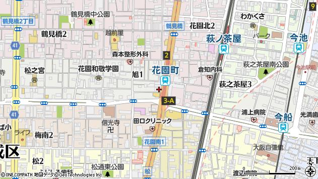 大阪府大阪市西成区旭1丁目4-3 地図(住所一覧から検索 ...