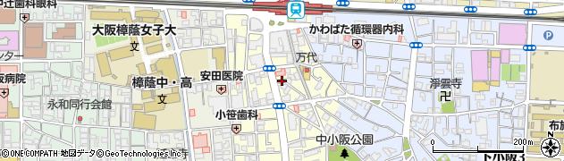 大阪府東大阪市小阪本町1丁目周辺の地図
