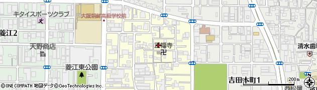 大阪府東大阪市吉田下島周辺の地図