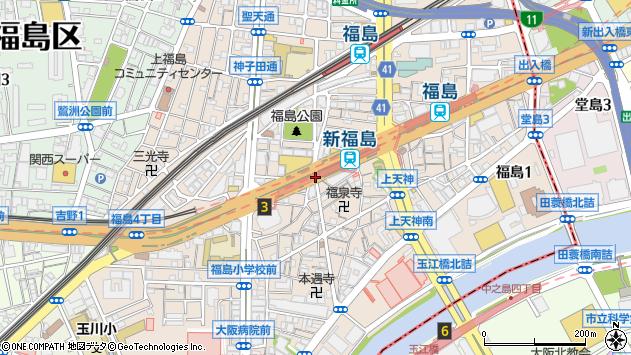 新福島駅(大阪府大阪市福島区)の地図・口コミ・周辺情報│ ...