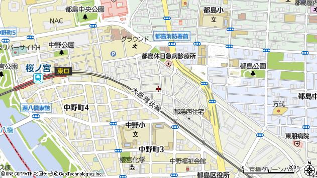 大阪府大阪市都島区都島南通 地図(住所一覧から検索 ...