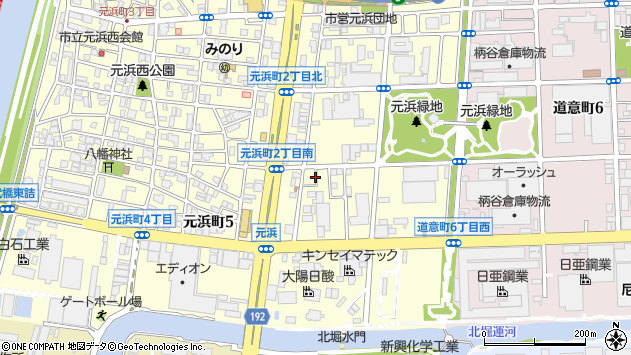 兵庫県尼崎市元浜町1丁目71 住所一覧から地図を検索
