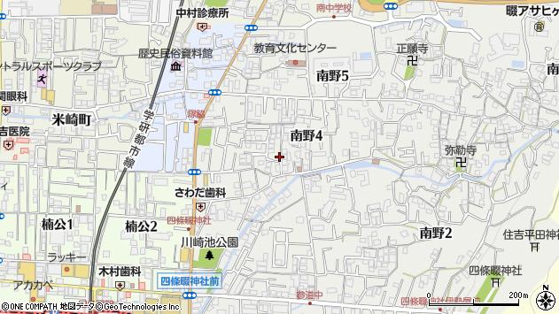 大阪府四條畷市南野 地図(住所一覧から検索) :マピオン