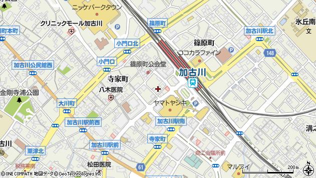 兵庫県加古川市加古川町篠原町 地図(住所一覧から検索 ...