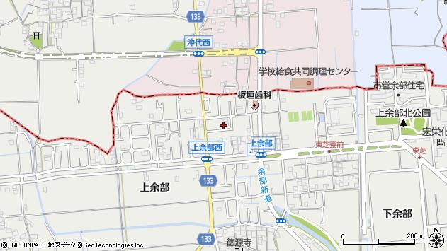 兵庫県姫路市余部区上余部218周辺の地図