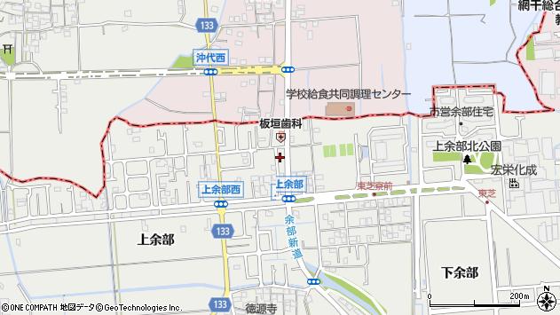 兵庫県姫路市余部区上余部222周辺の地図