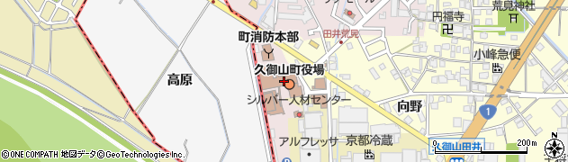 京都府久世郡久御山町周辺の地図