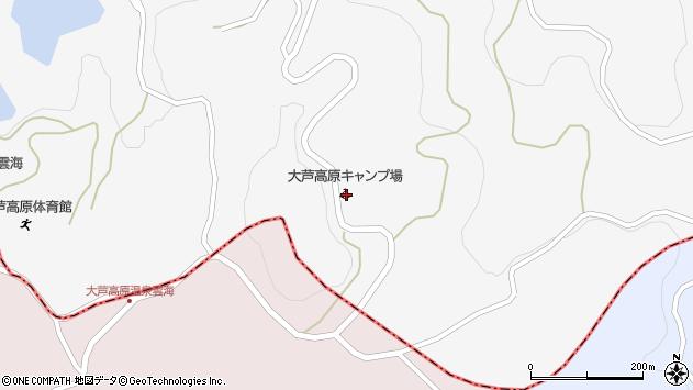 岡山県美作市上山1548 住所一覧から地図を検索