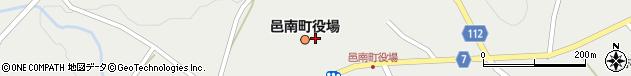 島根県邑智郡邑南町周辺の地図