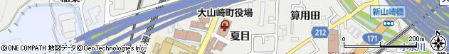京都府乙訓郡大山崎町周辺の地図