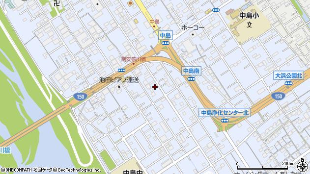 静岡県静岡市駿河区中島1158 地図(住所一覧から検索) :マピオン