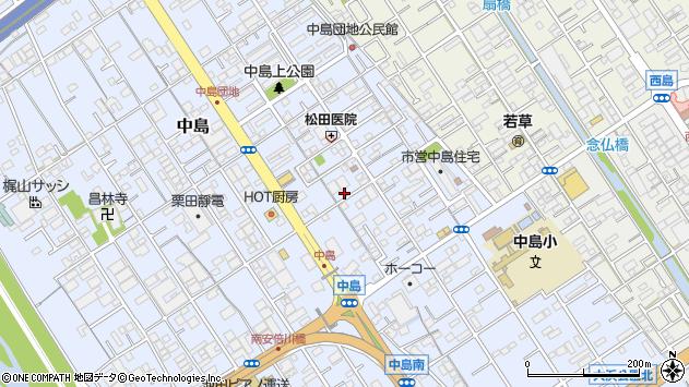 静岡県静岡市駿河区中島 地図(住所一覧から検索) :マピオン