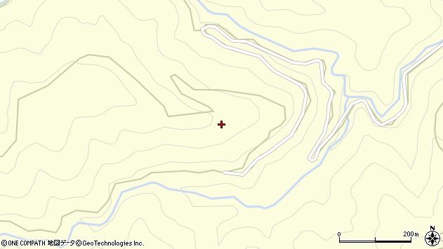 静岡県島田市川根町家山市井平周辺の地図
