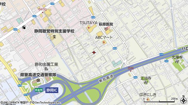 静岡県静岡市駿河区西脇 地図(住所一覧から検索) :マピオン