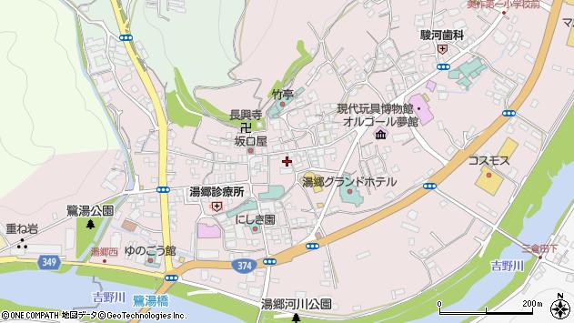 岡山県美作市湯郷 住所一覧から地図を検索