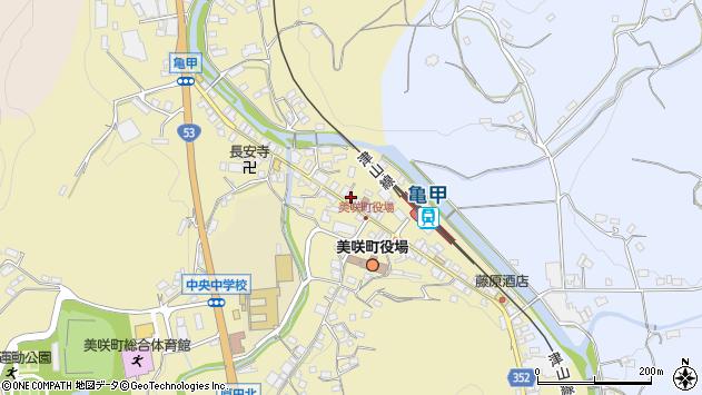 岡山県久米郡美咲町原田周辺の地図