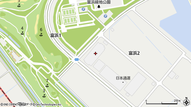 愛知県弥富市富浜2丁目1-4周辺の地図