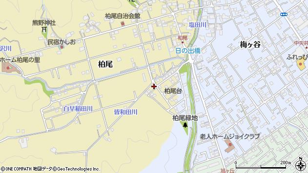 静岡県静岡市清水区柏尾 地図(住所一覧から検索) :マピオン