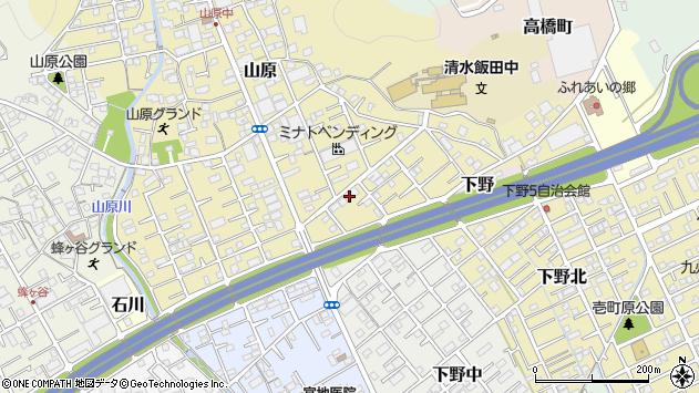 静岡県静岡市清水区山原 地図(住所一覧から検索) :マピオン