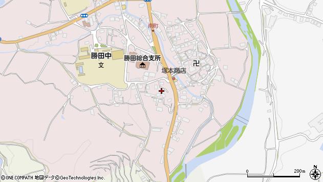 岡山県美作市真加部1751 住所一覧から地図を検索