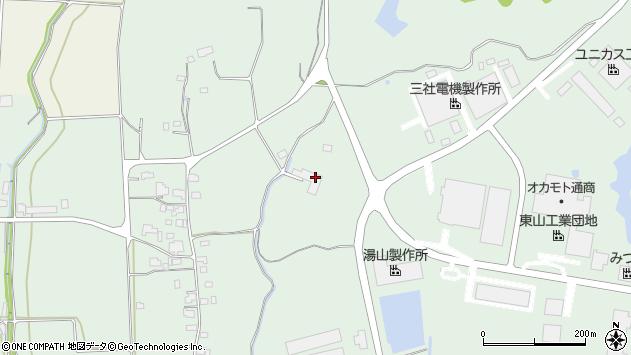 岡山県勝田郡奈義町柿1731周辺の地図